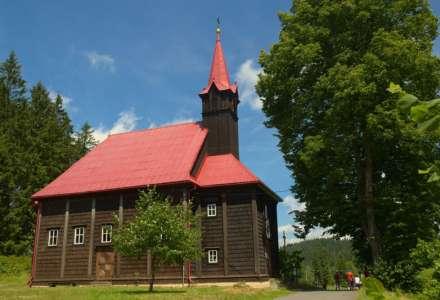 Kostel Panny Marie Pomocné Staré Hamry (Gruň)