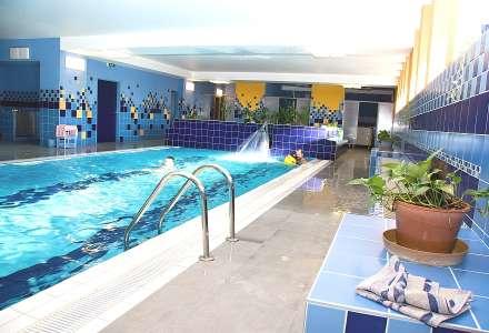 Bazén v beskydském hotelu Relax