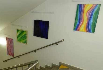 Galerie na schodech