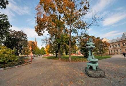 Husův sad Ostrava