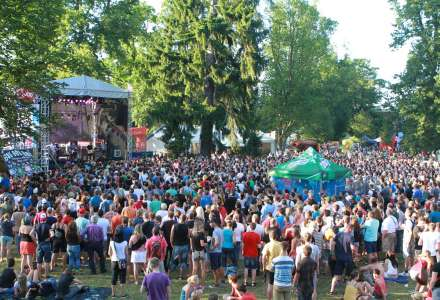 Areál festivalu Sázavafest