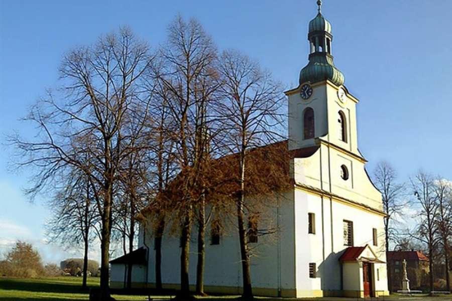 Kostel sv. Jana Křtitele ve Vratimově