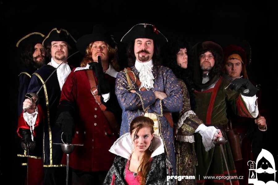 Divadelní představení Panna a netvor na zámku Velké Losiny