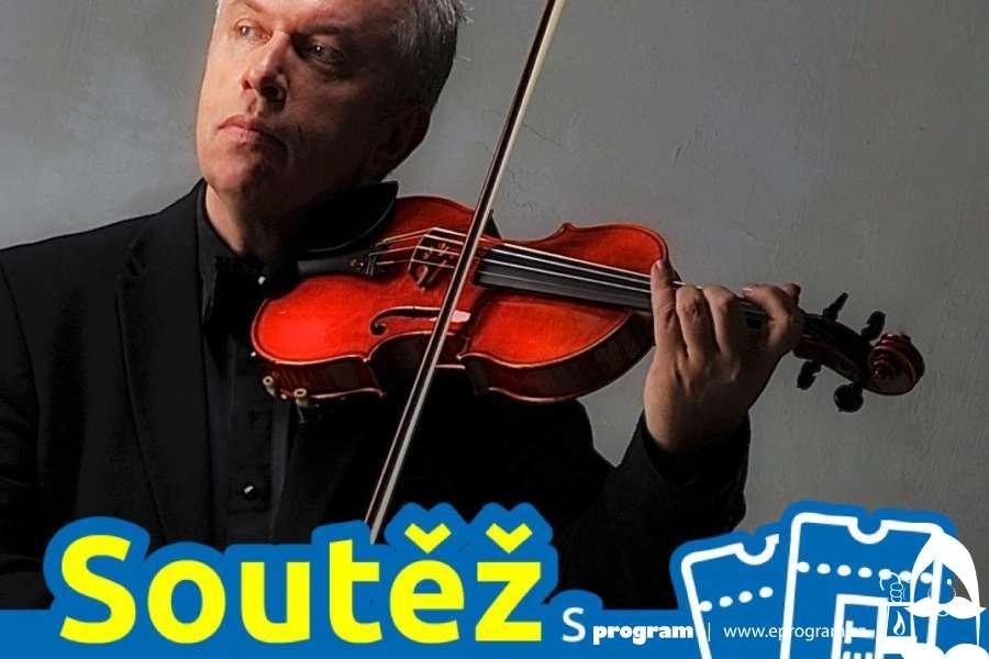 Soutěž o vstupenky na koncert houslisty Jaroslava Svěceného