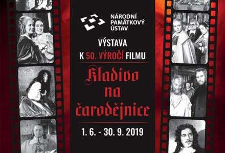 Výstava k 50. výročí filmu Kladivo na čarodějnice na zámku Velké Losiny