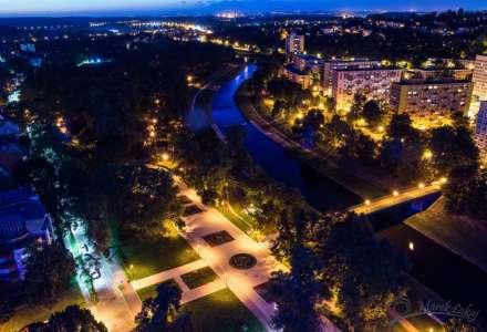 Ostrava v barvách noci