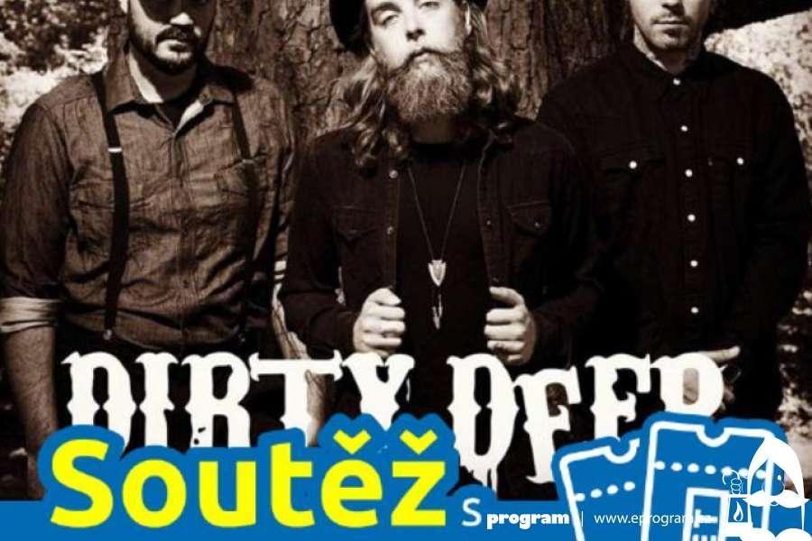 Soutěž o vstupenky na koncert heavy blues s kapelou Dirty Deep