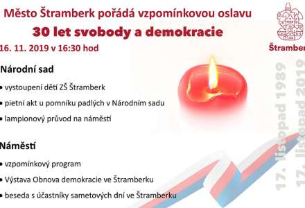 30 let svobody a demokracie ve Štramberku