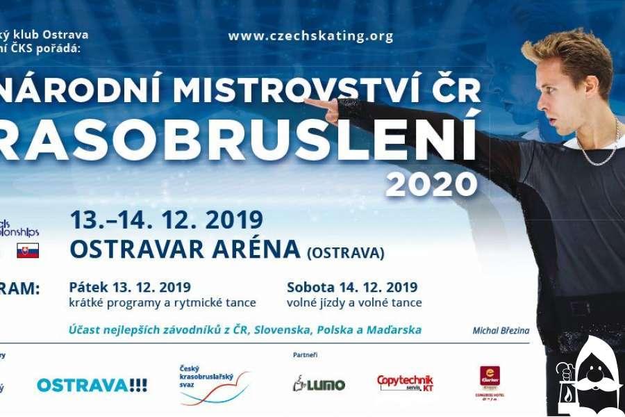 Mezinárodní mistrovství ČR v krasobruslení 2020
