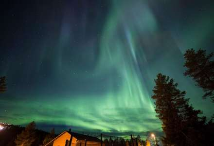 Patrik Dekan: Finsko, Laponsko - polární záře
