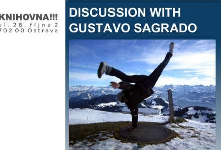 American Corner Ostrava - Discussion with Gustavo Sagrado