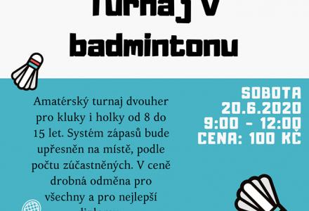 Turnaj v badmintonu
