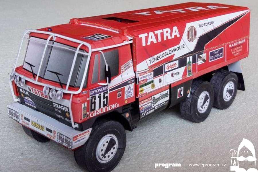 Mimořádná prohlídka exponátu Tatra 815 VD 10 300 4x4. 1