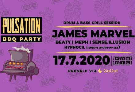 Drum & Bass BBQ Party w/ James Marvel