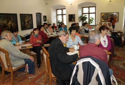 V. ročník Muzejní školy (nejen) pro seniory na Žerotínském zámku v Novém Jičíně