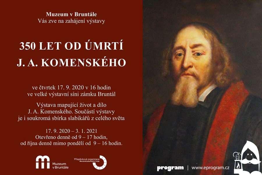 350 let od úmrtí J. A. Komenského