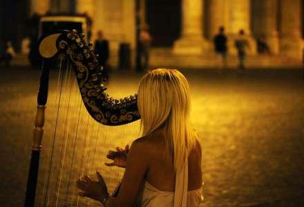 Harmonika a harfa