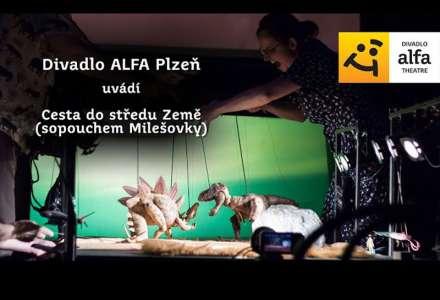 #Kultura on-line: Divadlo Alfa - Cesta do středu Země (Sopouchem Milešovky)