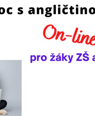 Pomoc s angličtinou online