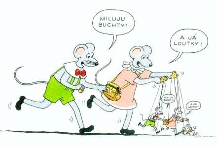 #Kultura on-line: Buchty a loutky - Anča a Pepík