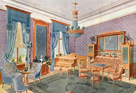 Adolf Růžička: Návrhy nábytku