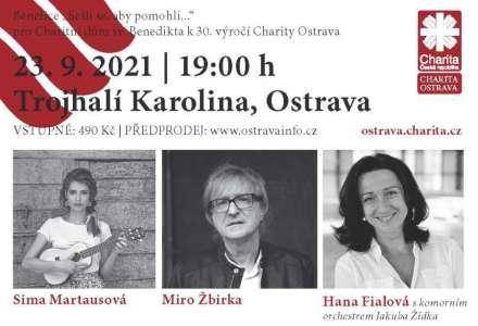 Miro Žbirka, Hana Fialová s komorním orchestrem Jakuba Žídka, Sima Martausová