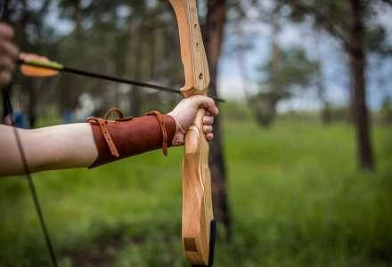 Středověký turnaj v lukostřelbě