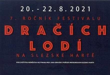 7. ročník festivalu DRAČÍCH LODÍ na Slezské Hartě