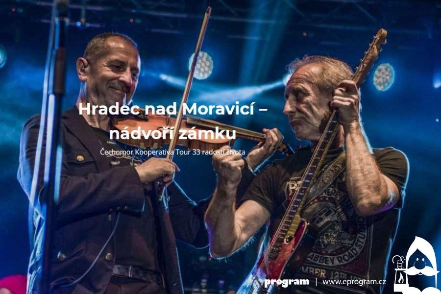 Čechomor Kooperativa Tour 33 radostí života