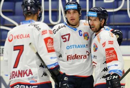 HC Vítkovice Ridera - HC Verva Litvínov