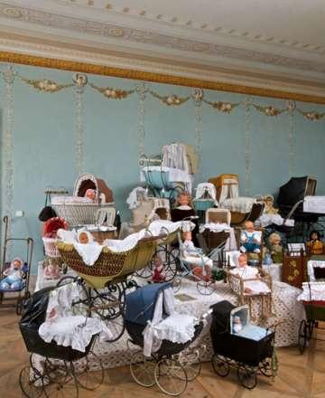 Výstava Babiččiny kočárky