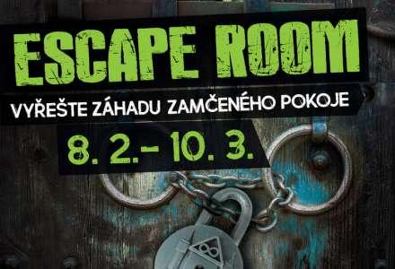 ESCAPE ROOM - vyřešte záhadu zamčeného pokoje!