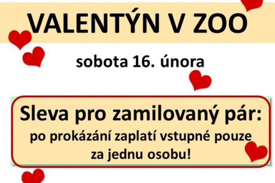 Valentýn v zoo