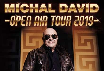 Michal David - Open Air Tour 2019 Olomouc