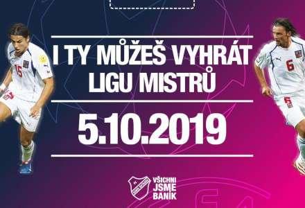Dětská Liga mistrů s Barošem a Jankulovskim v Outlet Arena Moravia