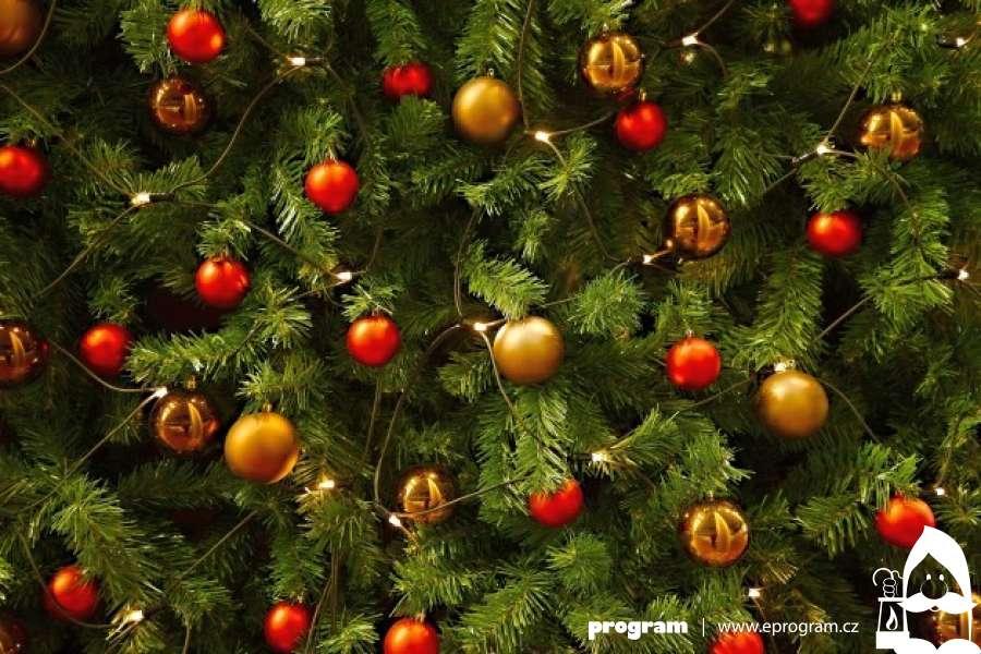 Dva vánoční stromy na jihu Ostravy