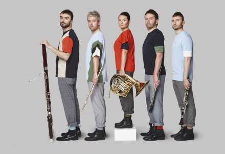 Dechový Belfiato Quintet v Ostravě