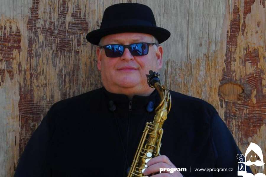 Americký saxofonista Jeff Alkire v Ostravě