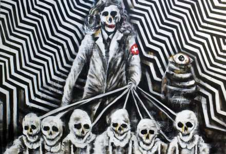 Marek Nenutil vystavuje svá plátna v Ostravě
