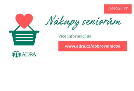 Ostravští dobrovolníci ADRA realizují první nákupy