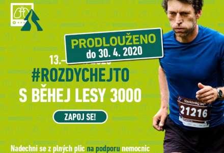 Prodlužujeme výzvu #rozdychejto s Běhej lesy 3000!