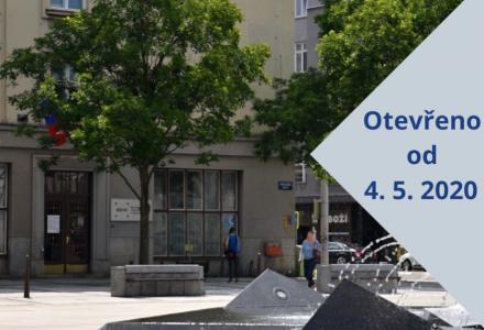 Moravskoslezská vědecká knihovna v Ostravě otevřena. Knihy budou 3 dny v karanténě.