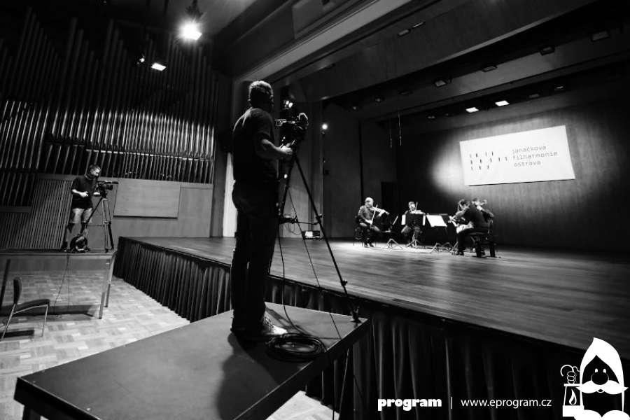Další streamovaný koncert z Janáčkovy filharmonie tentokrát i pro posluchače v sále