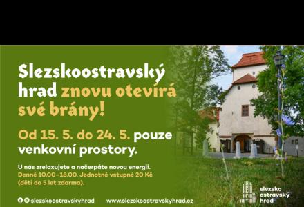 Slezskoostravský hrad otevírá své brány