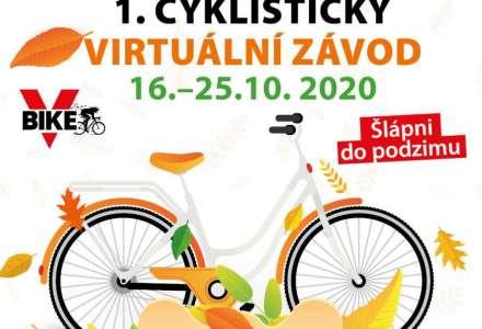 1. česká virtuální cyklojízda je tady. Staň se její součástí