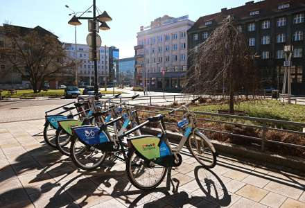 Na sdíleném kole v Ostravě až na třicet minut zdarma