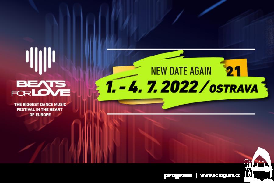Festival Beats for Love se přesouvá na rok 2022