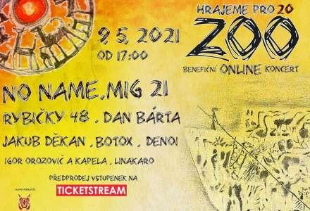 "Benefiční online koncert ""Hrajeme pro 20 ZOO"""