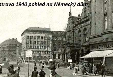 Německý stál v Ostravě na Nádražní třídě čp. 951. O jeho stavbě bylo rozhodnuto v únoru 1892 jako reakce na aktivity českého obyvatelstva, které začalo stavět svůj Národní dům. Pozemek, na kterém stál, patřil baronu Rothschildovi. Německý spolek jej výhodně koupil a současně stanovil, že cena za stavbu by neměla přesáhnout 150 000 zlatých.