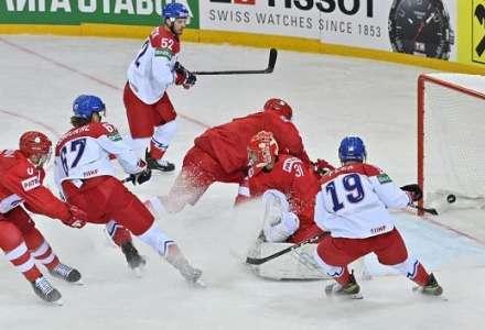 Bolestivá prohra na úvod MS! Češi třikrát smazali náskok Rusů, 19 vteřin před koncem ale přišla střela, na kterou už nedokázali odpovědět